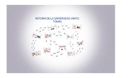 HISTORIA DE LA UNIVERSIDAD SANTO TOMÁS