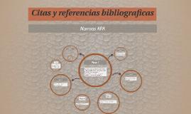 Citas y referencias bibliogrfaicas