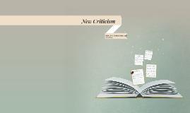 New Criticism