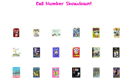 Call Number Showdown! 2015
