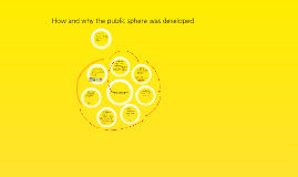 Media and the public sphere. Week two. The public.