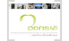 Presentació Boris 45, S.A.