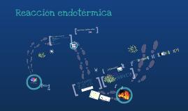 Copy of Reacción endotérmica