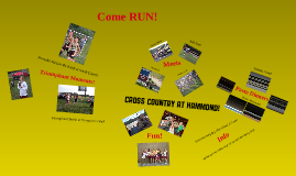 Copy of Cross Country At Hammond!