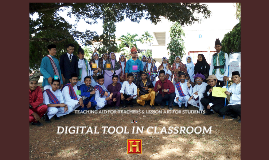 DIGITAL TOOL IN CLASSROOM