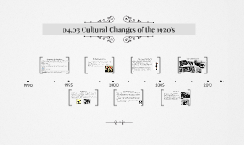 Copy of 04.03 Cultural Changes of the 1920's