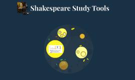 Shakespeare Study Tools