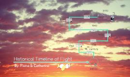 Historical Flight Timeline