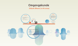 Copy of Omgangskunde