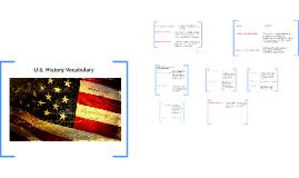 U.S. History Vocabulary