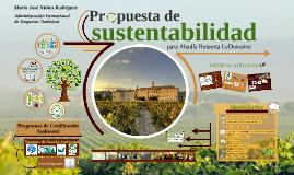 Propuesta de Sustentabilidad