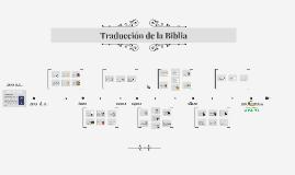 Traducción de la Biblia