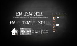 Presentatie EW-TEW-HIR à 6ejaars OLVC Bevegem