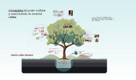 Colonialidad del podercultura y conocimiento en América Lat