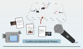 Conferencia (Rueda) de Prensa