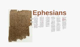 Ephesians 1:15ff