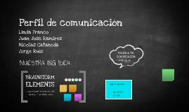 Perfil de comunicación