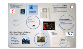 ikea s global sourcing challenge indian rugs and child labor b Human rights and global sourcing: ikea in human rights and global sourcing: ikea in india by: the epidemic of child labor within india and.