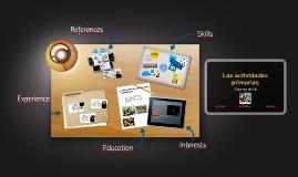 Copy of Copy of Las actividades primarias