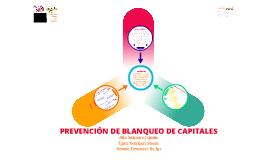 Prevención blanqueo capitales