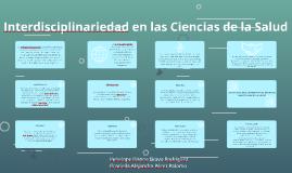 Interdisciplinariedad en las Ciencias de la Salud