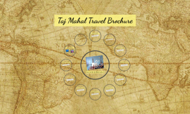 Taj Mahal Travel Brochure