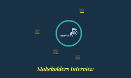 Stakeholders Presentation