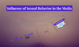 Influence of Sexual Behavior in the Media