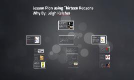 Lesson Plan using Thirteen Reasons Why