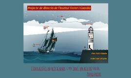 Projecte de Direcció Pau Folch (amb actuacions)