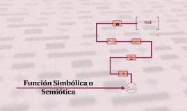 Copy of Función Simbólica o Semiótica