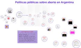 Políticas Públicas sobre Aborto en Argentina