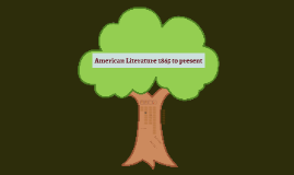 American Literature 1865 to present