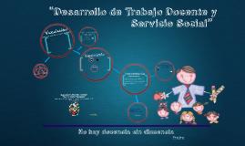 TRABAJO DOCENTE Y SERVICIO SOCIAL