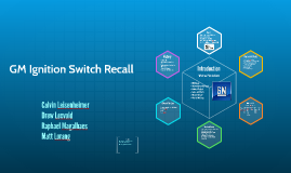 GM Ignition Switch Recall