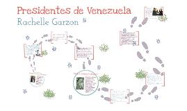 Presidentes: Ramon Velasquez y Rafael Caldera