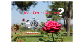 How to do your Prezi?