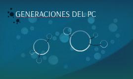 GENERACIONES DEL PC
