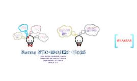 NTC IEC/ISO 17025