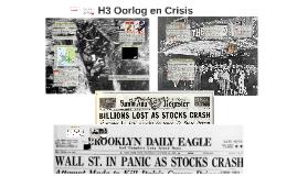 H3 Oorlog en Crisis