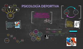 Copy of PSICOLOGÍA DEPORTIVA