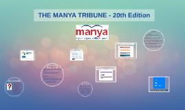 THE MANYA TRIBUNE -20TH EDITION