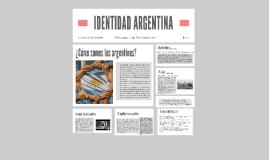 IDENTIDAD ARGENTINA