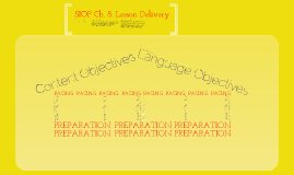 SIOP Ch. 8: Lesson Delivery