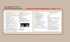 Correção da avaliação Facig N1 2015