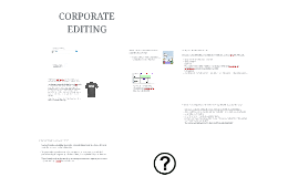 JOUR2711 - Corporate Editing
