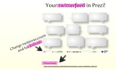Copy of Twitterfeed in Prezi