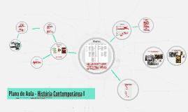 Plano de Aula - História Contemporânea I