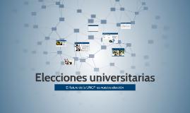 Elecciones universitarias