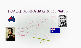 Copy of HOW DID AUSTRALIA GETS ITS NAME?